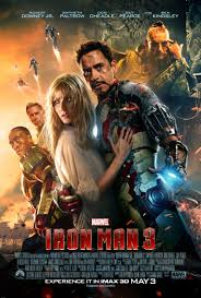Iron Man 3 Movie Poster.