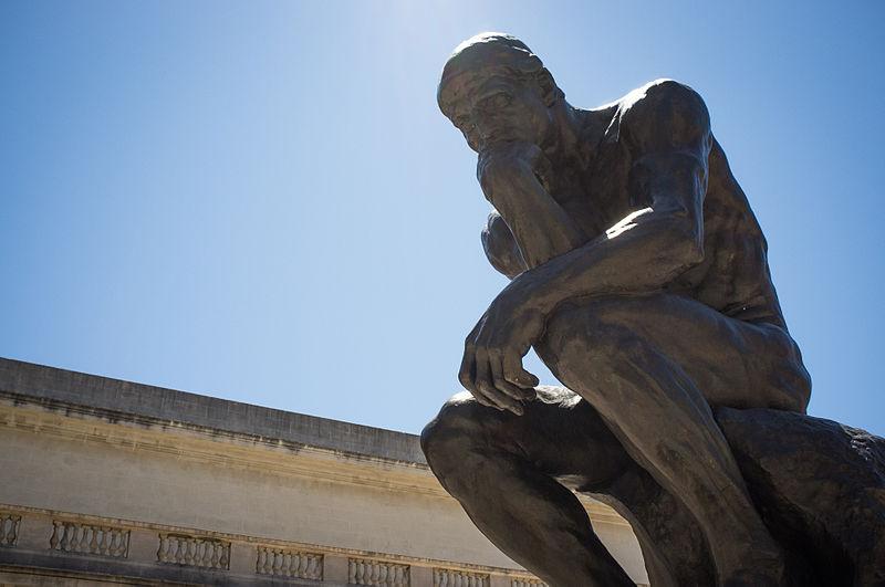 Rodin's The Thinker - photo by Drflet