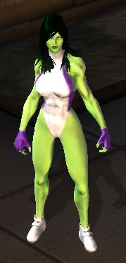 She Hulk from the game
