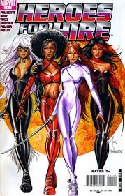 Seriously, apart from the costume and hair, no difference, including a white-washed Misty Knight.